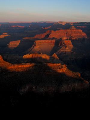 lever de soleil sur grand canyon