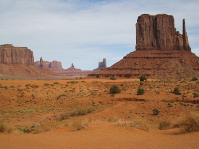 au coeur de monument valley