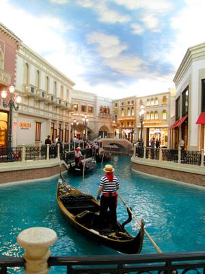 gondole au venetian