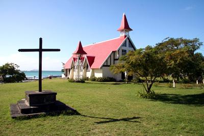 église de cap malheureux ) ile maurice